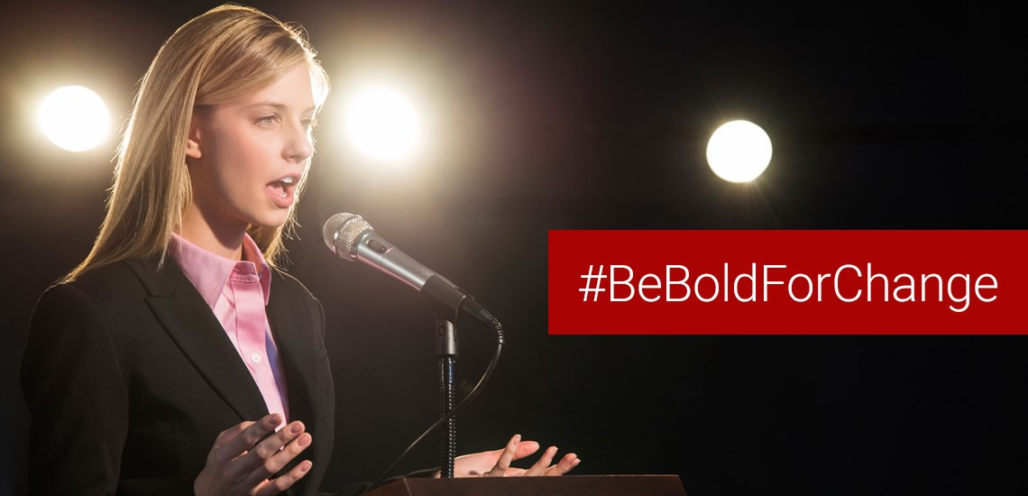 International Women's Day Be Bold For Change