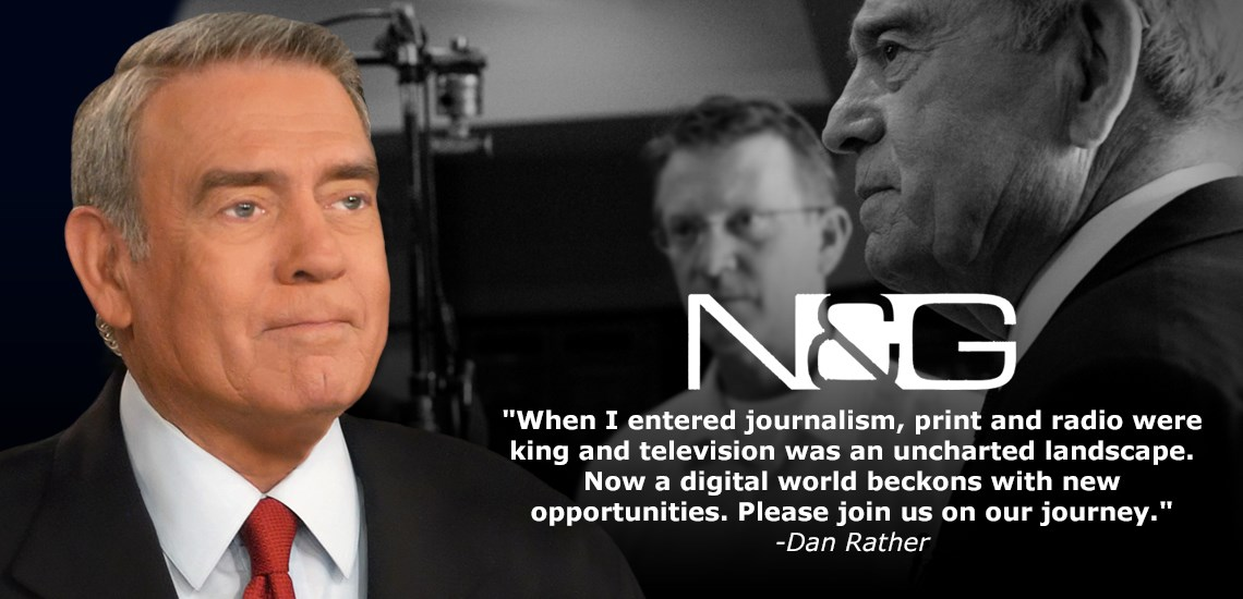 Dan Rather Goes Viral on Social Media