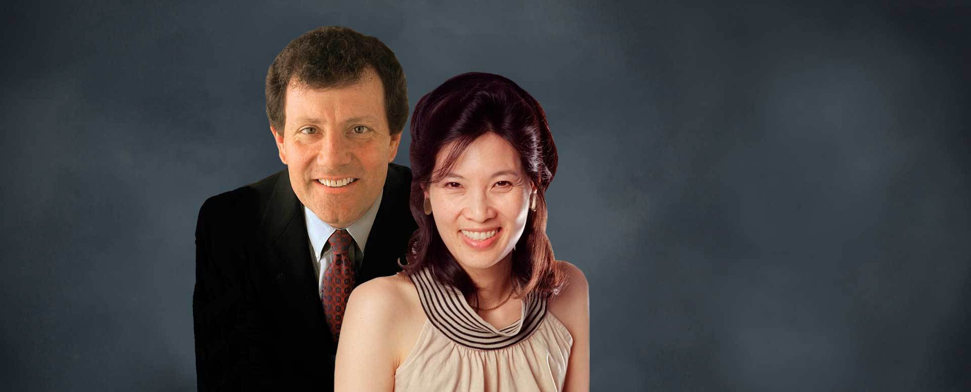 Book Nicholas Kristof & Sheryl WuDunn for Speaking, Events and