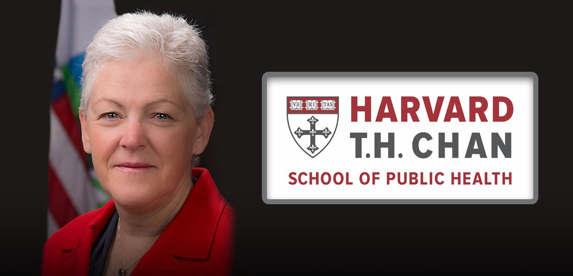 Gina McCarthy Appointed to Harvard Chan School Faculty