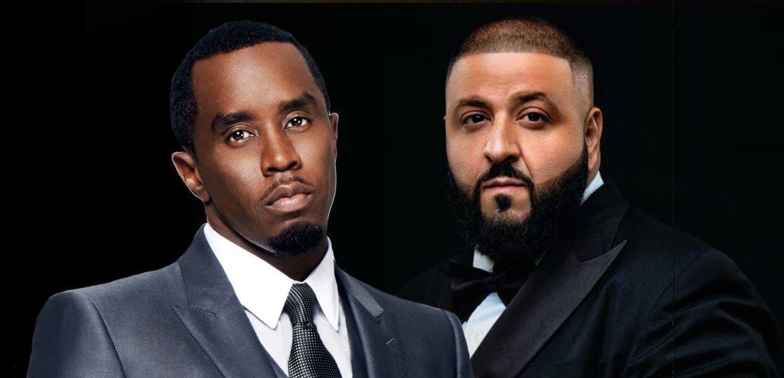 Music Industry Moguls Sean Combs and DJ Khaled Speaking with APB