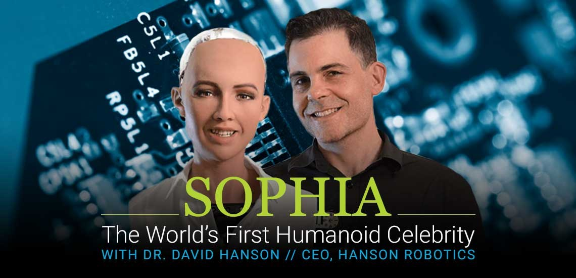 Meet Sophia, the World's First Humanoid Celebrity