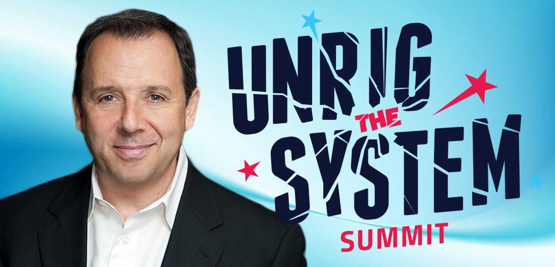 APB's Ron Suskind Shines at Unrig the System Summit