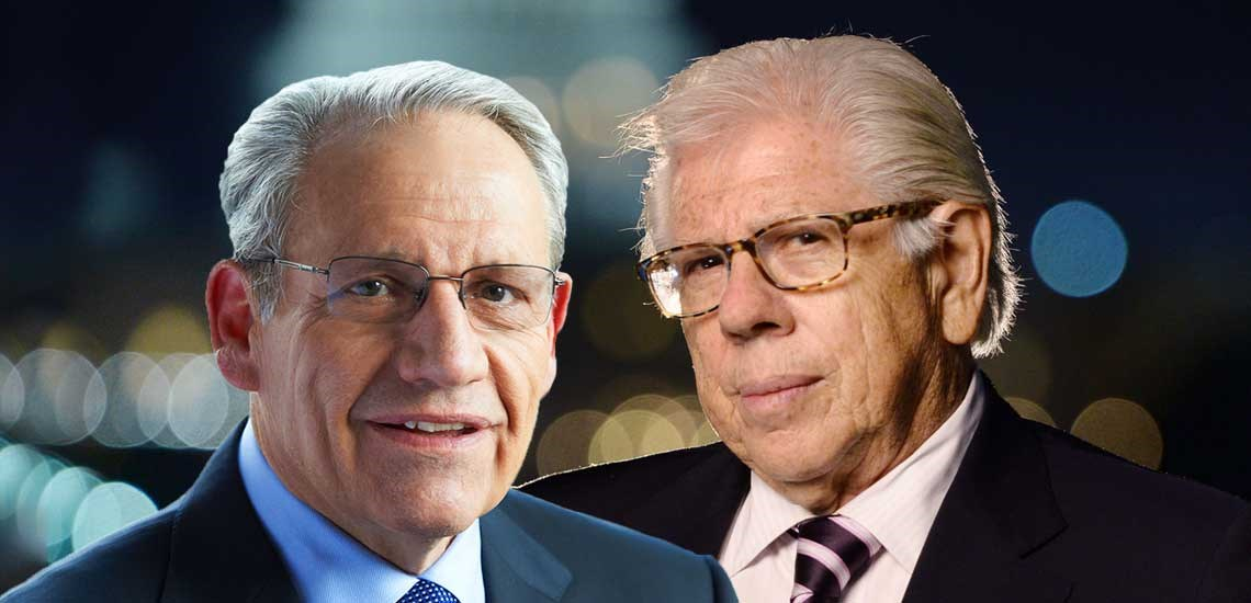 Legendary Journalists Woodward & Bernstein See Presidential Parallels