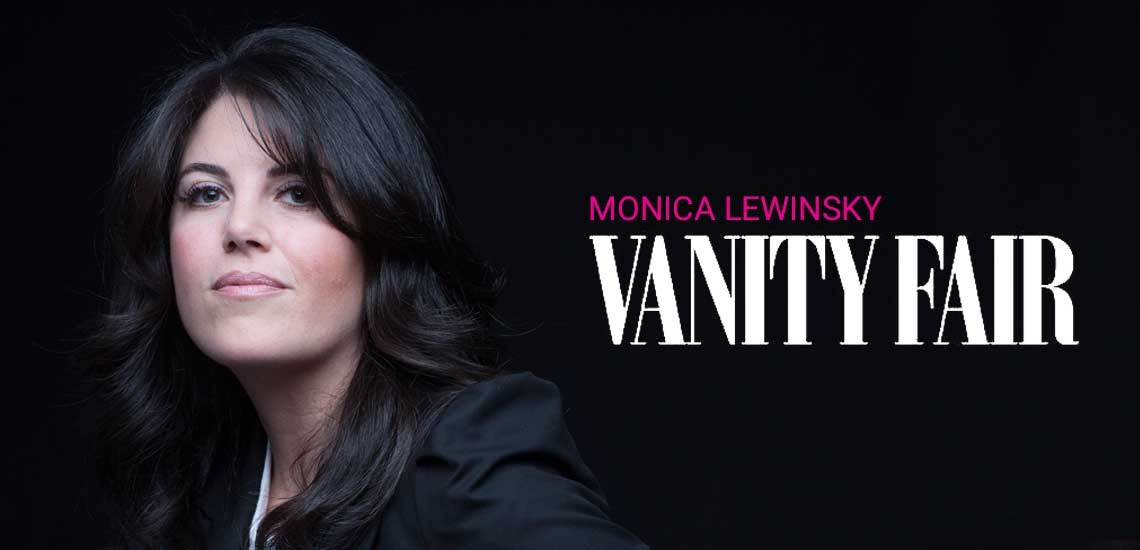 "Monica Lewinsky Pens Article on #MeToo Movement for ""Vanity Fair"""