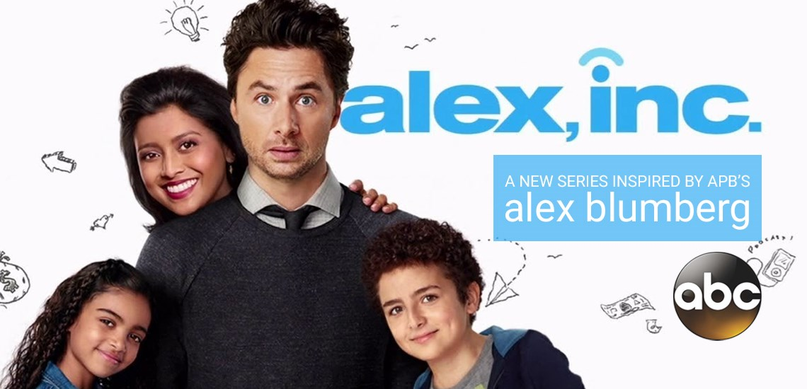 "ABC to Premiere Sitcom ""Alex, Inc."" Based on the Life of APB's Alex Blumberg"