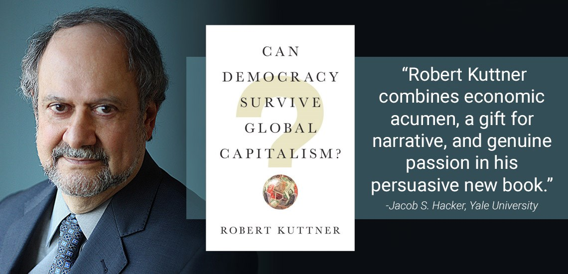APB's Robert Kuttner to Release New Book in April