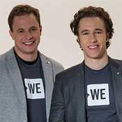 Marc and Craig  Kielburger