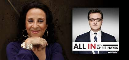 APB's Maria Hinojosa Passionately Speaks on MSNBC About Trump, Immigration & More