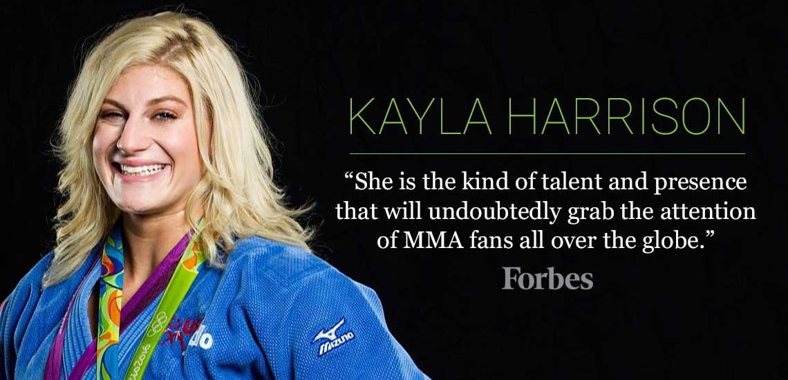APB's Kayla Harrison Grabs Attention of MMA Fans Around the Globe