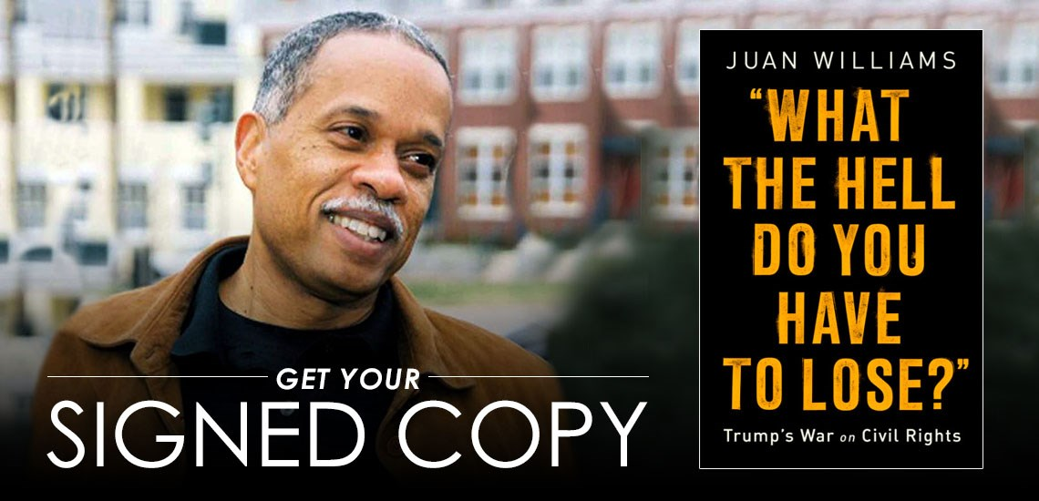 APB's Juan Williams Stands Up to Trump's War on Civil Rights in New Book