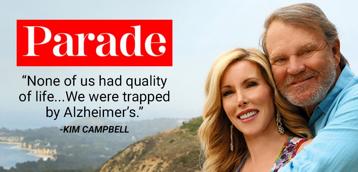 """Parade"" Magazine Feature: APB's Kim Campbell on Being Her Husband's Caregiver"