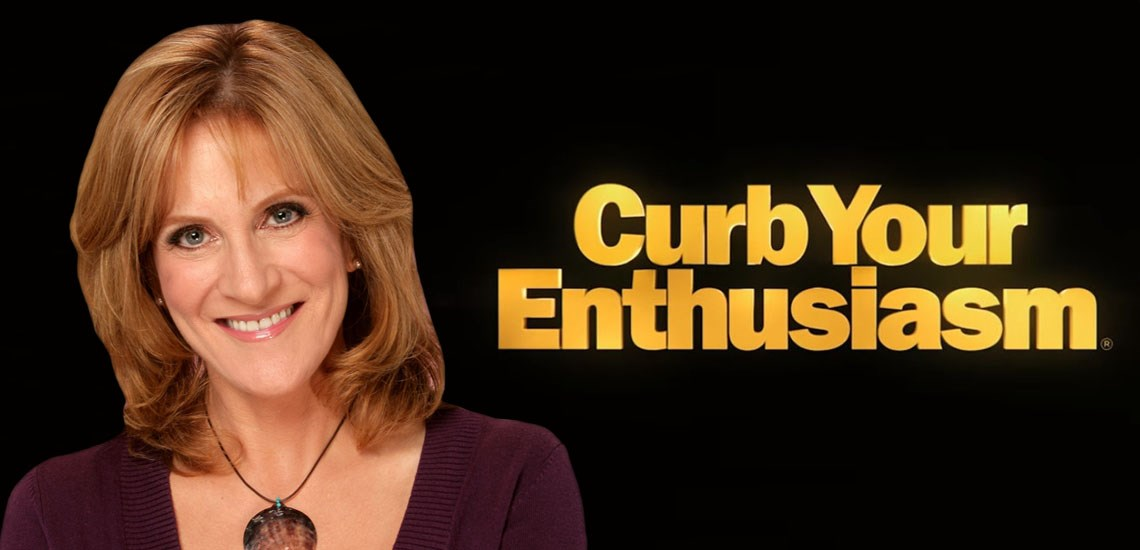 "Carol Leifer Becomes a Lion of Judah,  Joins ""Curb Your Enthusiasm"" Staff"