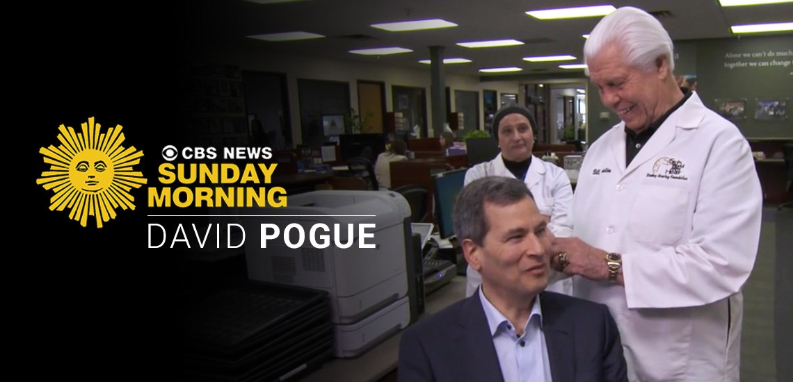"Advances in Hearing Aid Technology: APB's David Pogue on ""CBS Sunday Morning"""