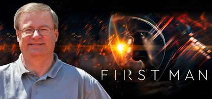 """First Man,"" Based on James Hansen's Book, Hits Theaters"