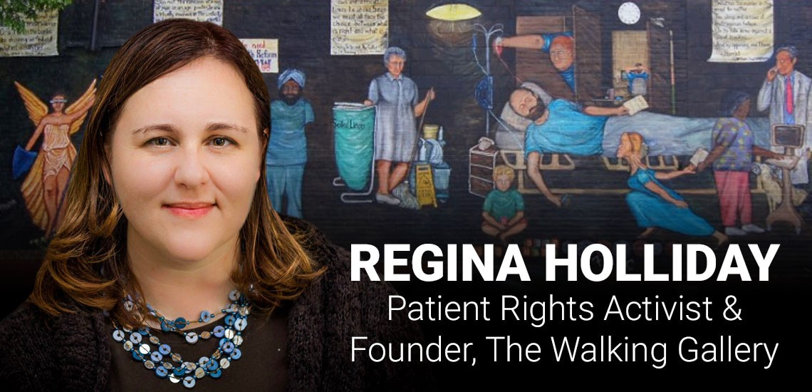 Patient Rights Activist Regina Holliday Showcases Her Medical Advocacy Mural Project