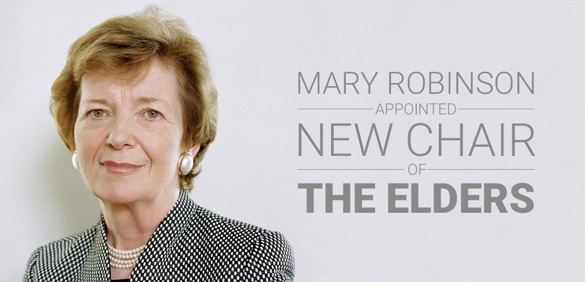 APB's Mary Robinson Appointed New Chair of The Elders