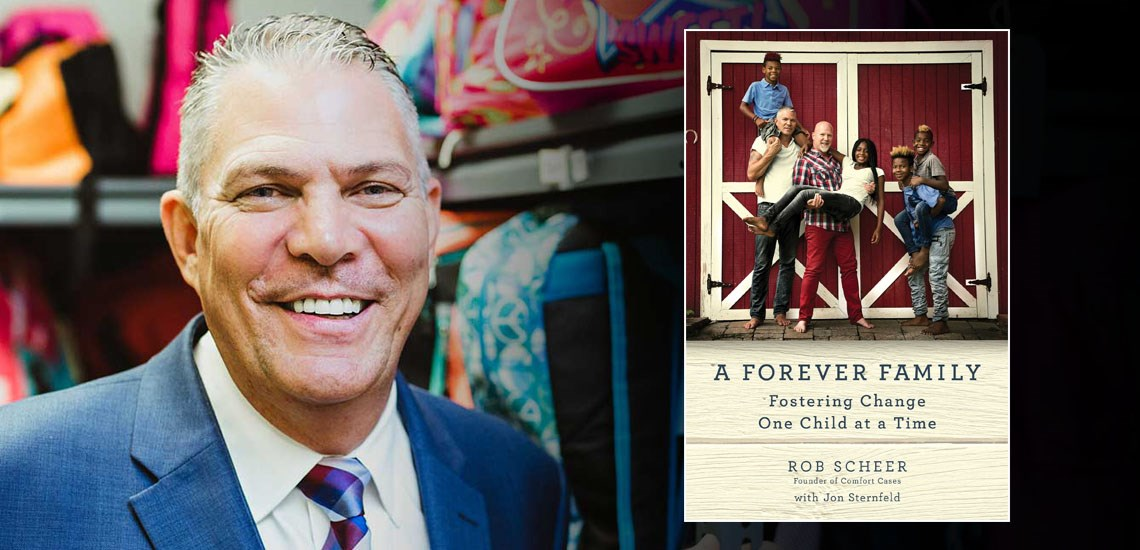 "APB's Rob Scheer Releases New Book, ""A Forever Family: Fostering Change One Child at a Time"""