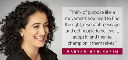 "APB's Maryam Banikarim Explains Being a Purpose Champion vs. a Top Boss in ""Fast Company"""
