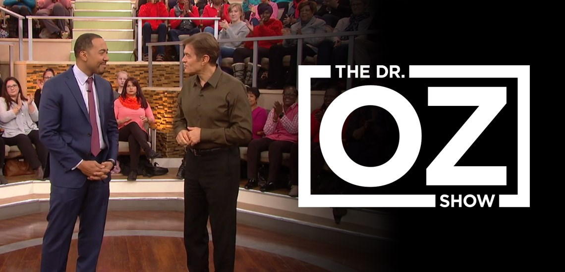 "Dr. Sampson Davis Appears on ""The Dr. Oz Show"" to Discuss Heart Health"