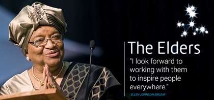 Former President of Liberia and Nobel Laureate Ellen Johnson Sirleaf Joins The Elders