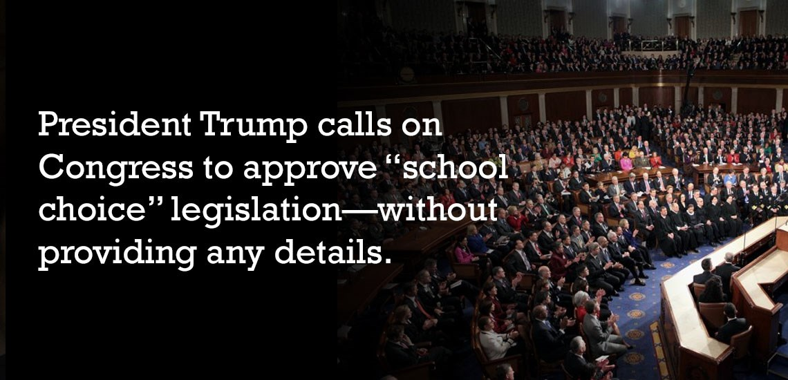 Education Noticeably Overlooked in State of the Union Address