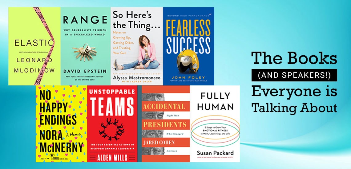 Don't Miss These Top Books (and Speakers) of 2019!