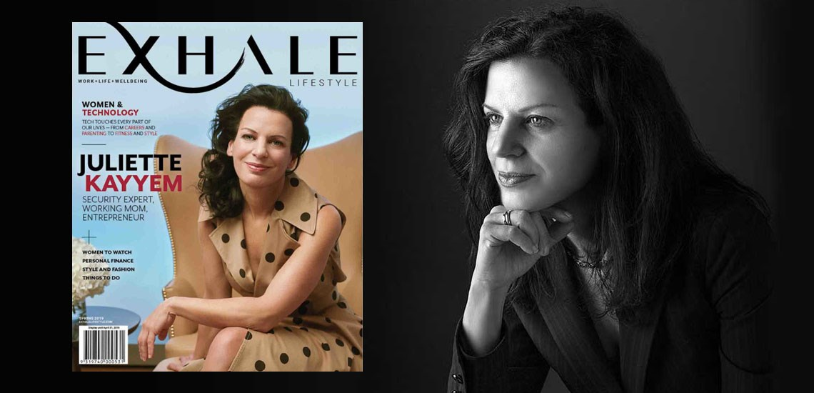 """Exhale Lifestyle"" Magazine to Feature Speaker Juliette Kayyem"