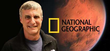 "Steven Squyres Featured in ""National Geographic"" Discussing the Legacy of the Mars Rover"