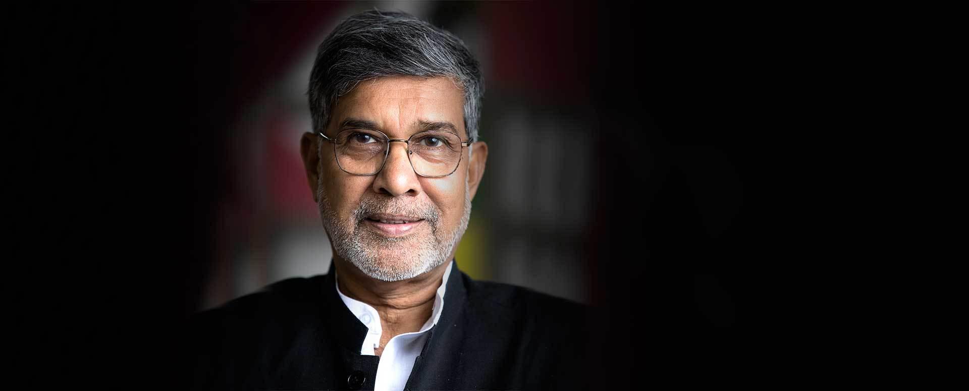 Image result for Kailash Satyarthi