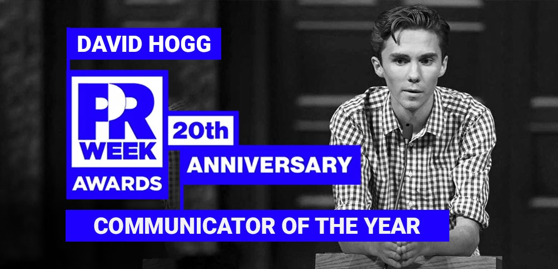 David Hogg, March For Our Lives, Name Communicator of the Year