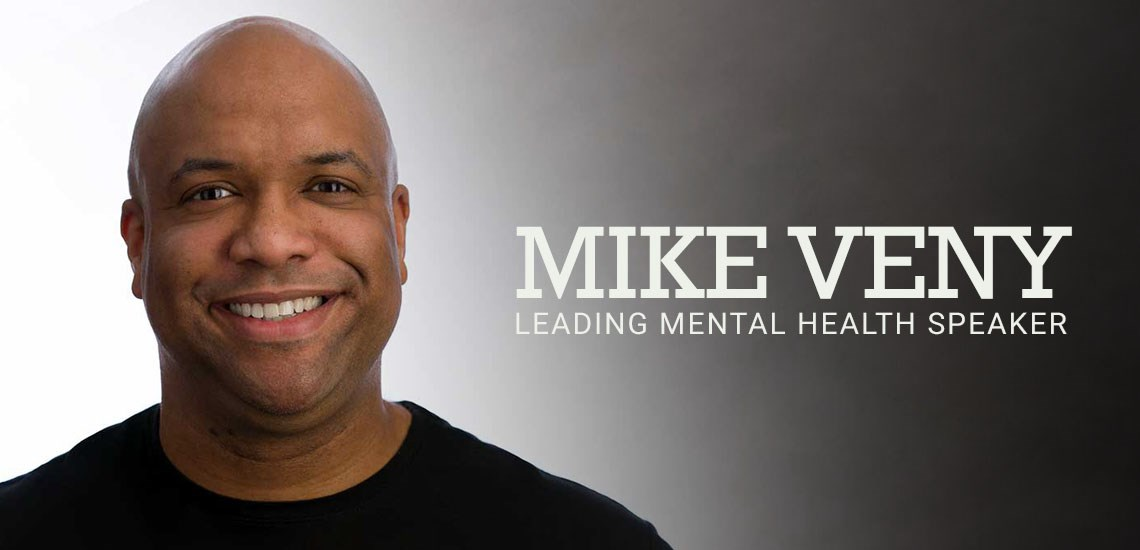 Meet Mental Health Motivational Speaker, Mike Veny