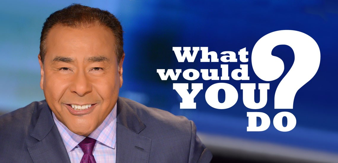 "John Quiñones' Show ""What Would You Do?"" Returns for 13th Season"