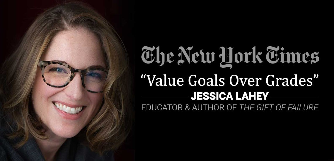 "Jessica Lahey Featured in ""The New York Times,"" Shares How to Help Children Succeed at School"