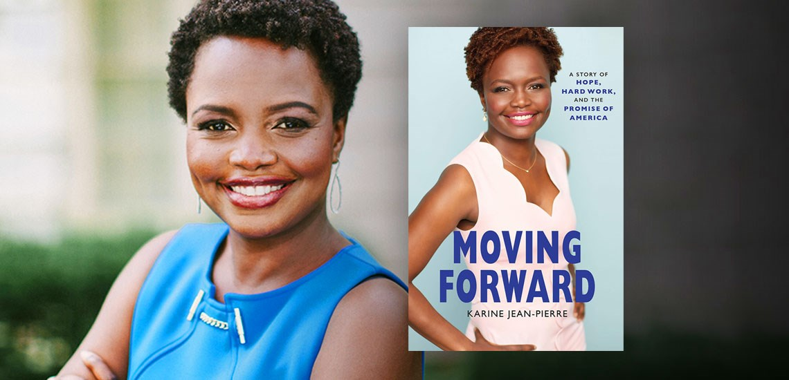 "APB Speaker Karine Jean-Pierre Releases New Book, ""Moving Forward"""