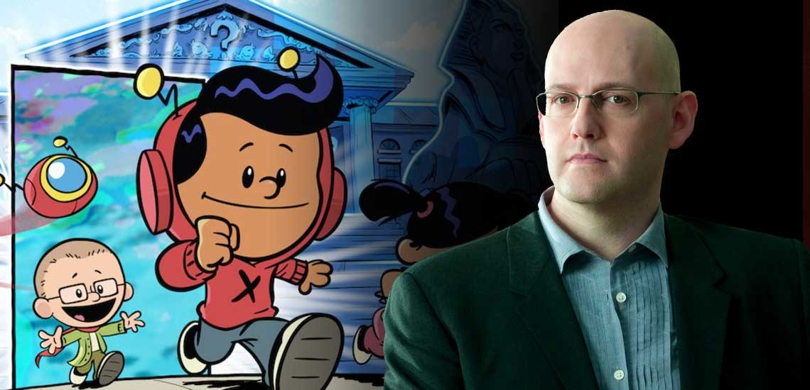 "APB Speaker Brad Meltzer Creates New PBS Kids Show, ""Xavier Riddle and the Secret Museum"""