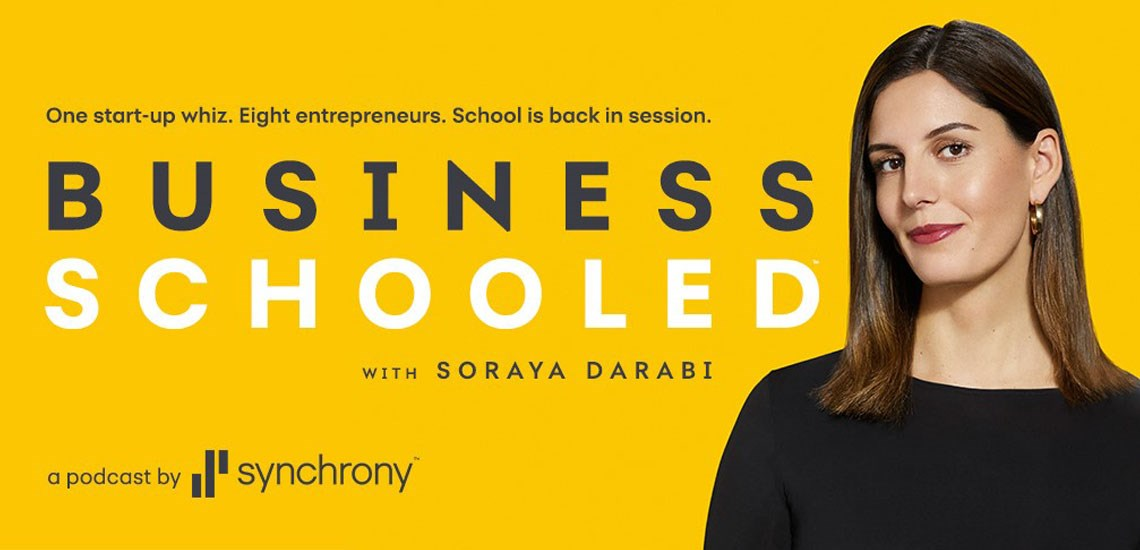 "APB Speaker Soraya Darabi Takes Reins as New Host of Popular Podcast ""Business Schooled"""