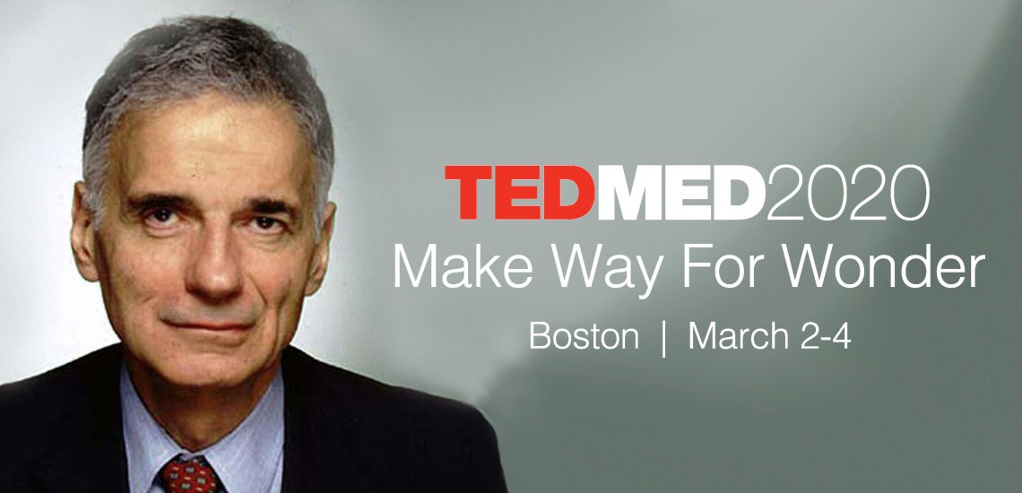 TEDMED 2020 Lineup to Include APB Speaker Ralph Nader