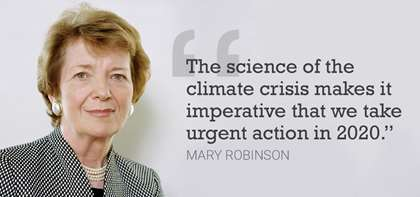 APB's Mary Robinson Makes Headlines as She Takes on the Climate Crisis with The Elders