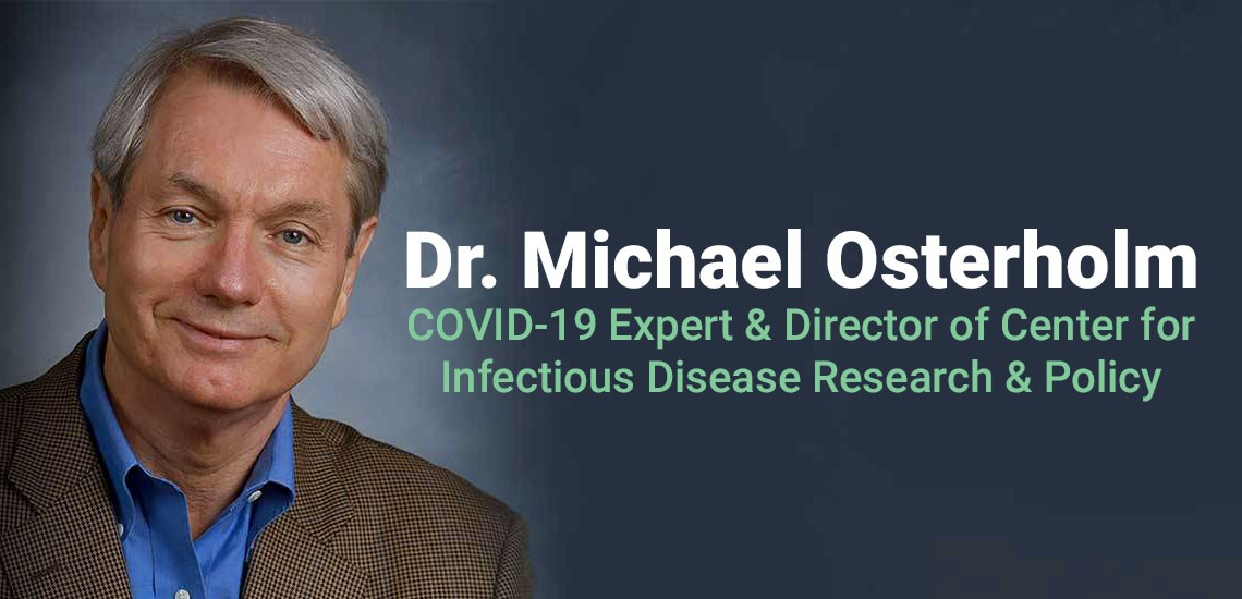Dr. Michael Osterholm's Bestseller Asks Is COVID-19 Our Deadliest Enemy?