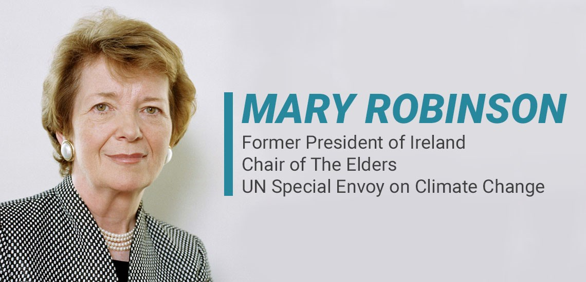 Call to Action for COVID-19 from APB's Mary Robinson & The Elders