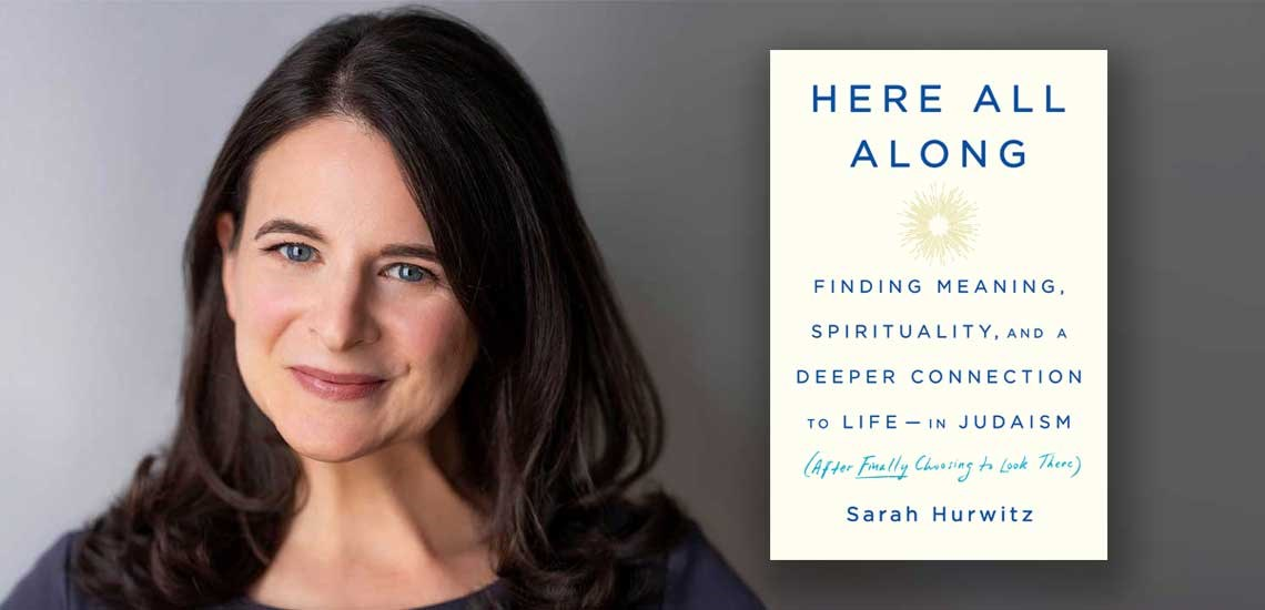 "Sarah Hurwitz's Book ""Here All Along"" is Obama Approved"