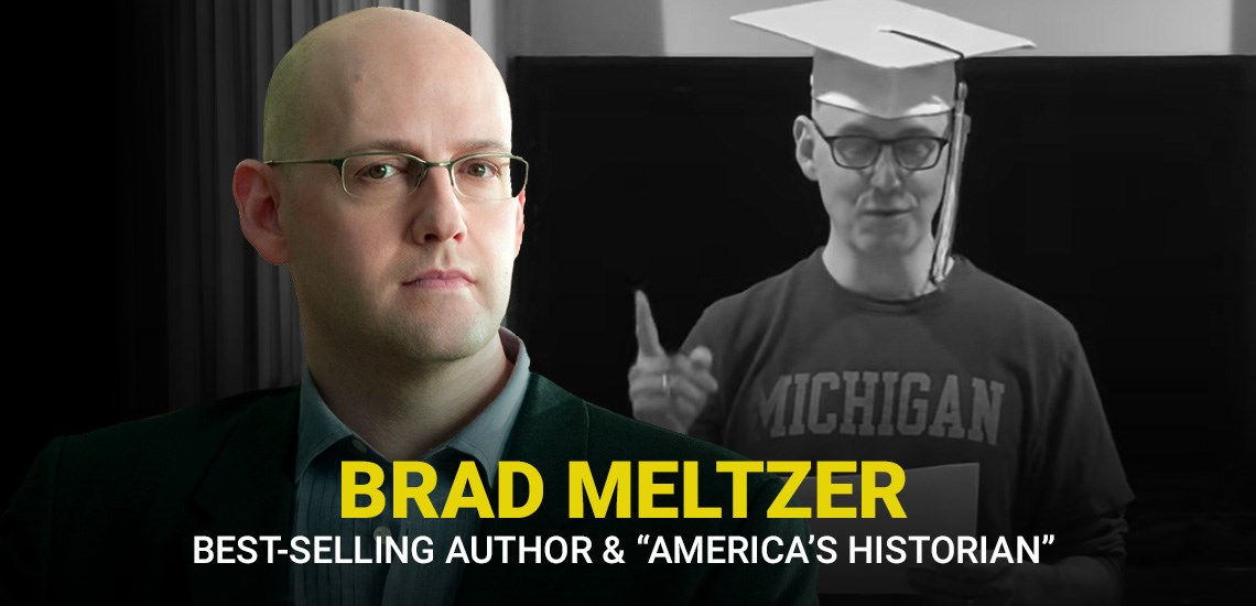 Living Room Graduation with APB Speaker Brad Meltzer