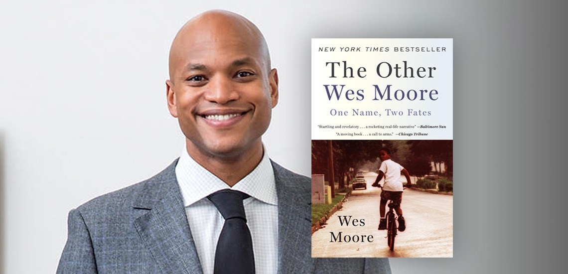 APB Speaker Wes Moore's NYT Bestseller is Stephen Curry's First Book Club Read