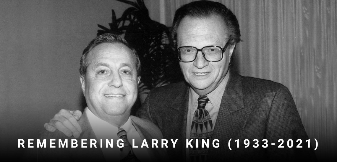 Kindred Spirits in the World of Talk: APB CEO Robert Walker Remembers His Over 40 Year Friendship with Larry King