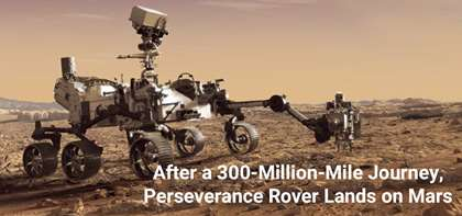 Touchdown! The NASA Perseverance Rover Has Safely Landed on Mars